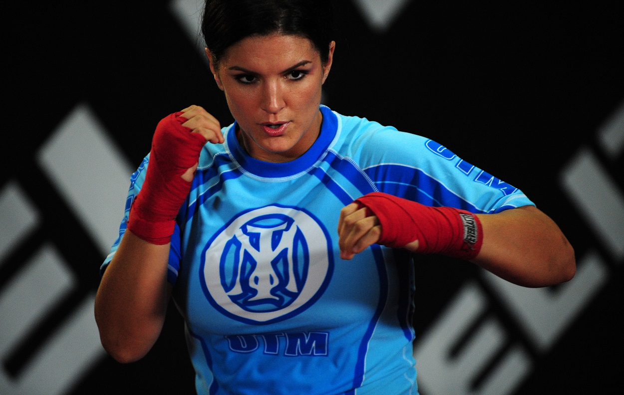 Former MMA fighter Gina Carano