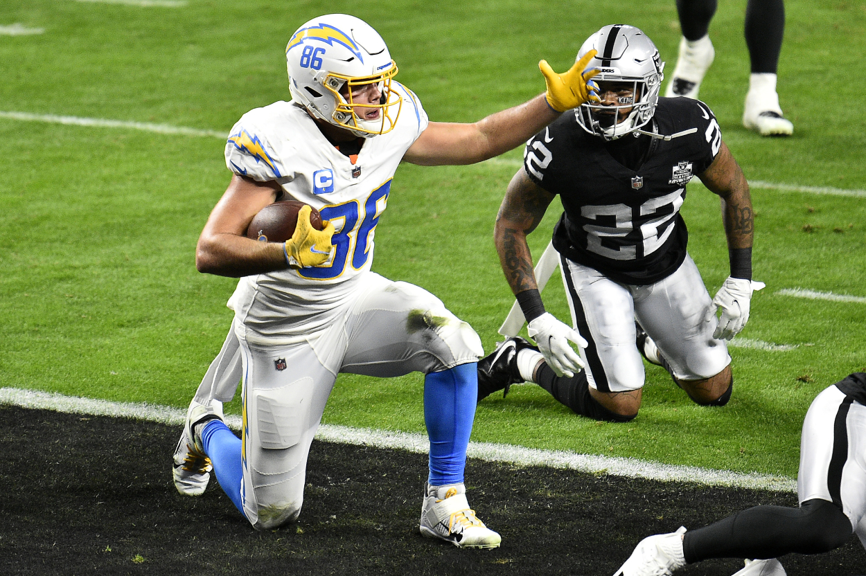 Hunter Henry would be a good fit for the New England Patriots.