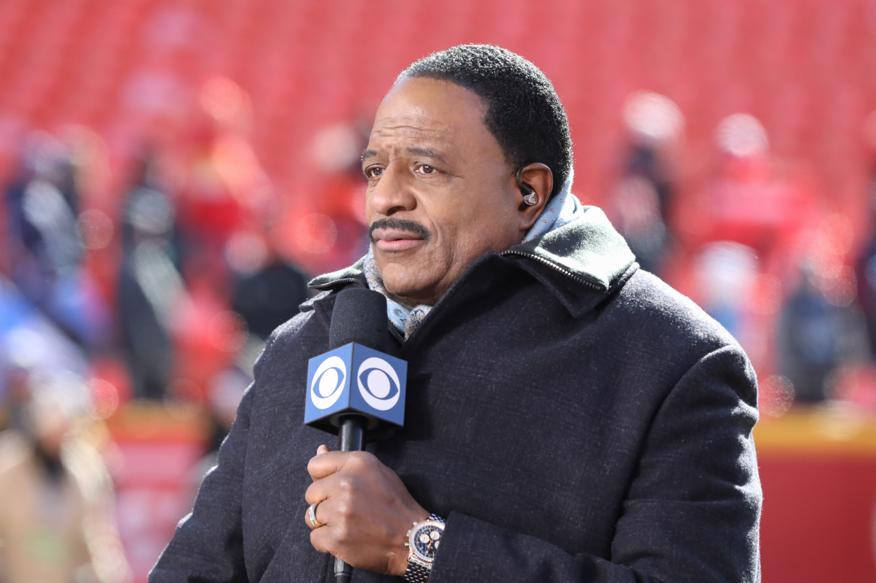 James Brown has been a familiar face on CBS for years, as he is known for hosting NFL coverage. However, he also owns the Nationals.