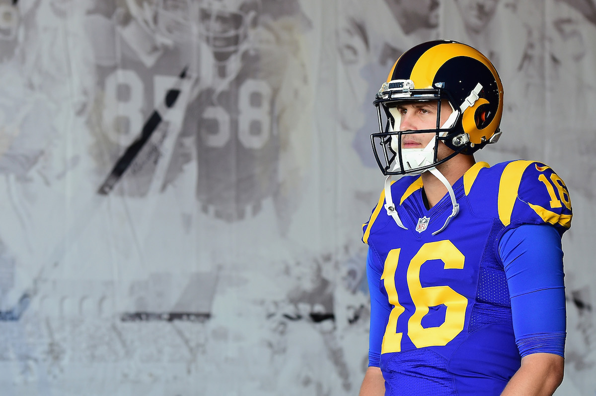 After being traded away from the Los Angeles Rams, Jared Goff discusses his time in LA and his new start with the Detroit Lions.