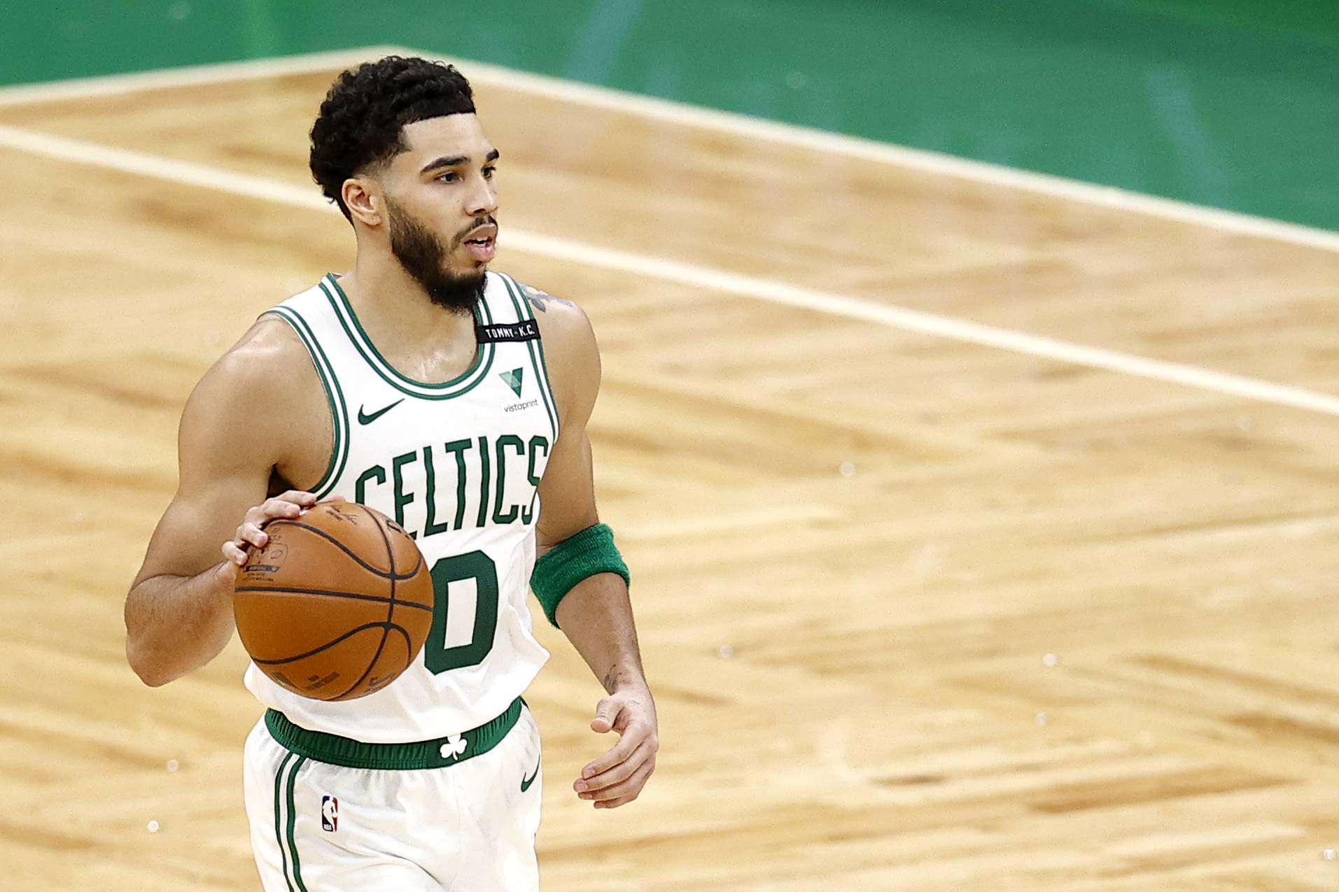 Jayson Tatum has become an NBA star and is just in his fourth year in the league.
