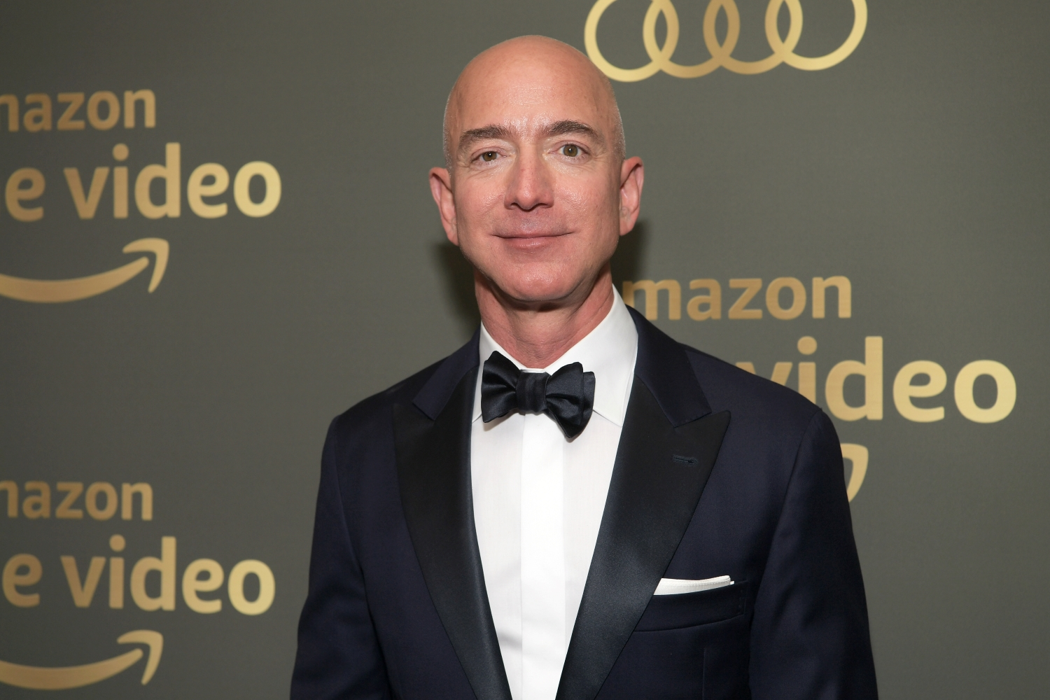 Amazon CEO Jeff Bezos attends the Amazon Prime Video's Golden Globe Awards After Party at The Beverly Hilton Hotel.