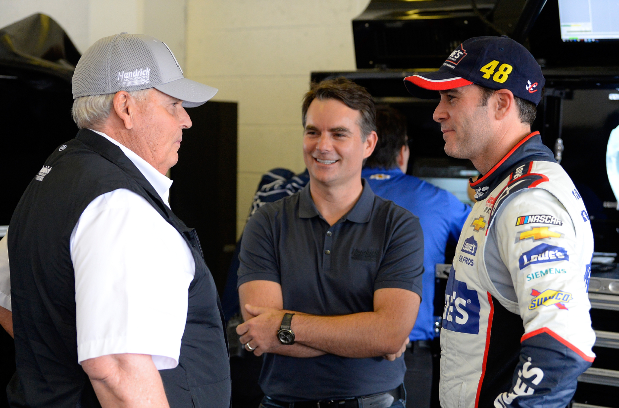 Jeff Gordon and Rick Hendrick have a great relationship.