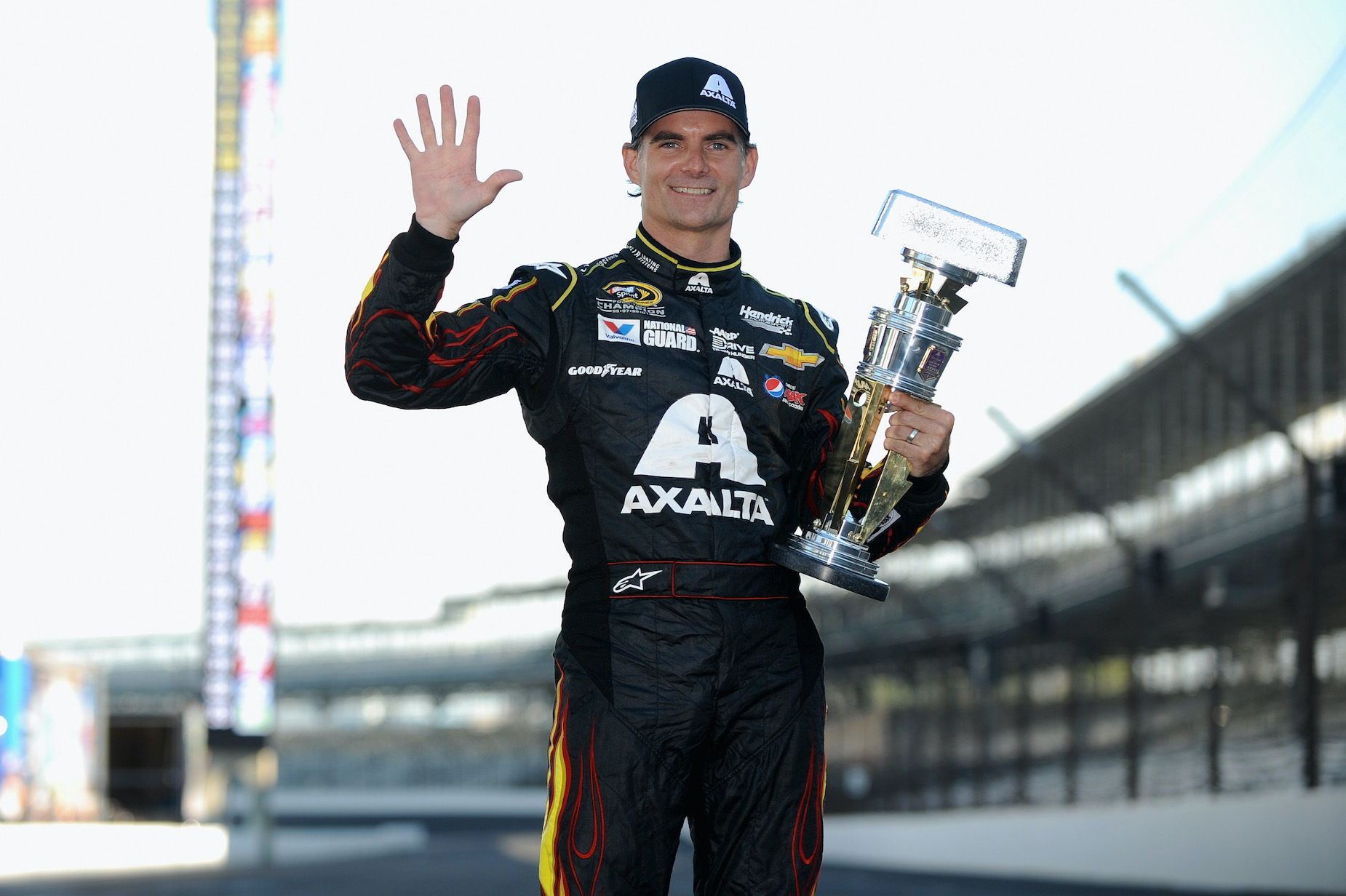 Jeff Gordon briefly flirted with a career as a professional waterskier before building up a massive net worth in NASCAR.