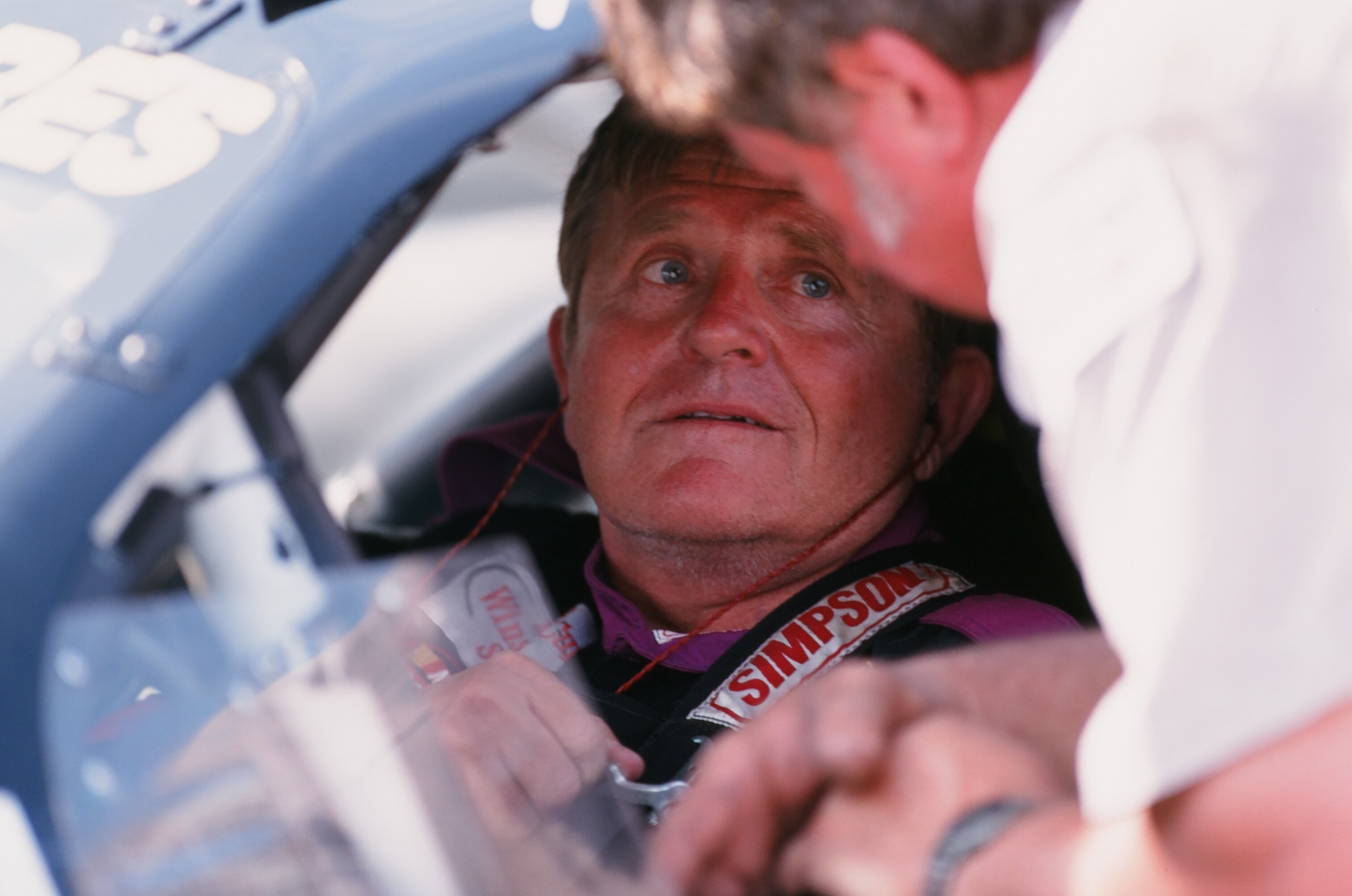 Former NFL head coach Jerry Glanville is also a big racecar driver