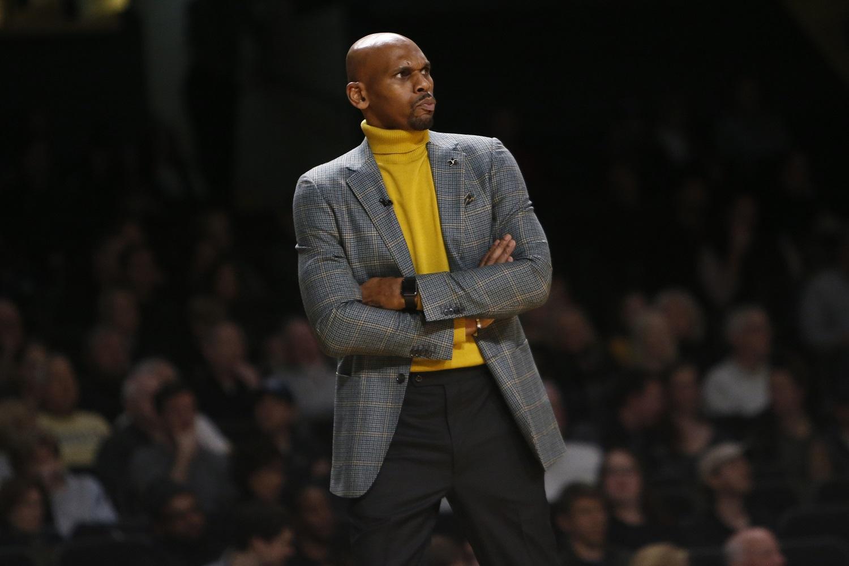 Jerry Stackhouse is the men's college basketball coach at Vanderbilt University