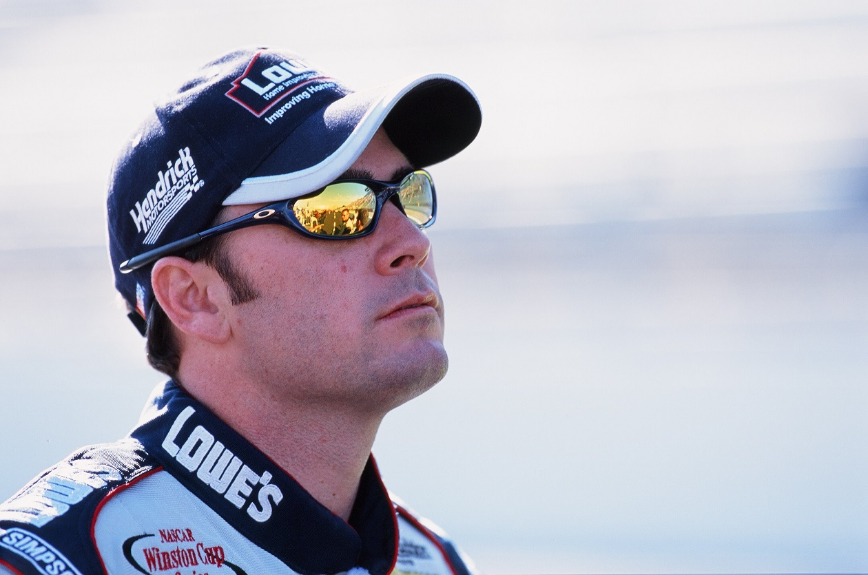 Jimmie Johnson during his rookie season