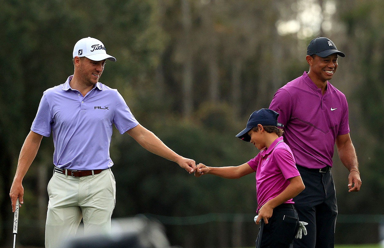 Following Tiger Woods' Devastating Accident, an Emotional Justin Thomas Keeps the Focus Exactly Where It Needs to Be
