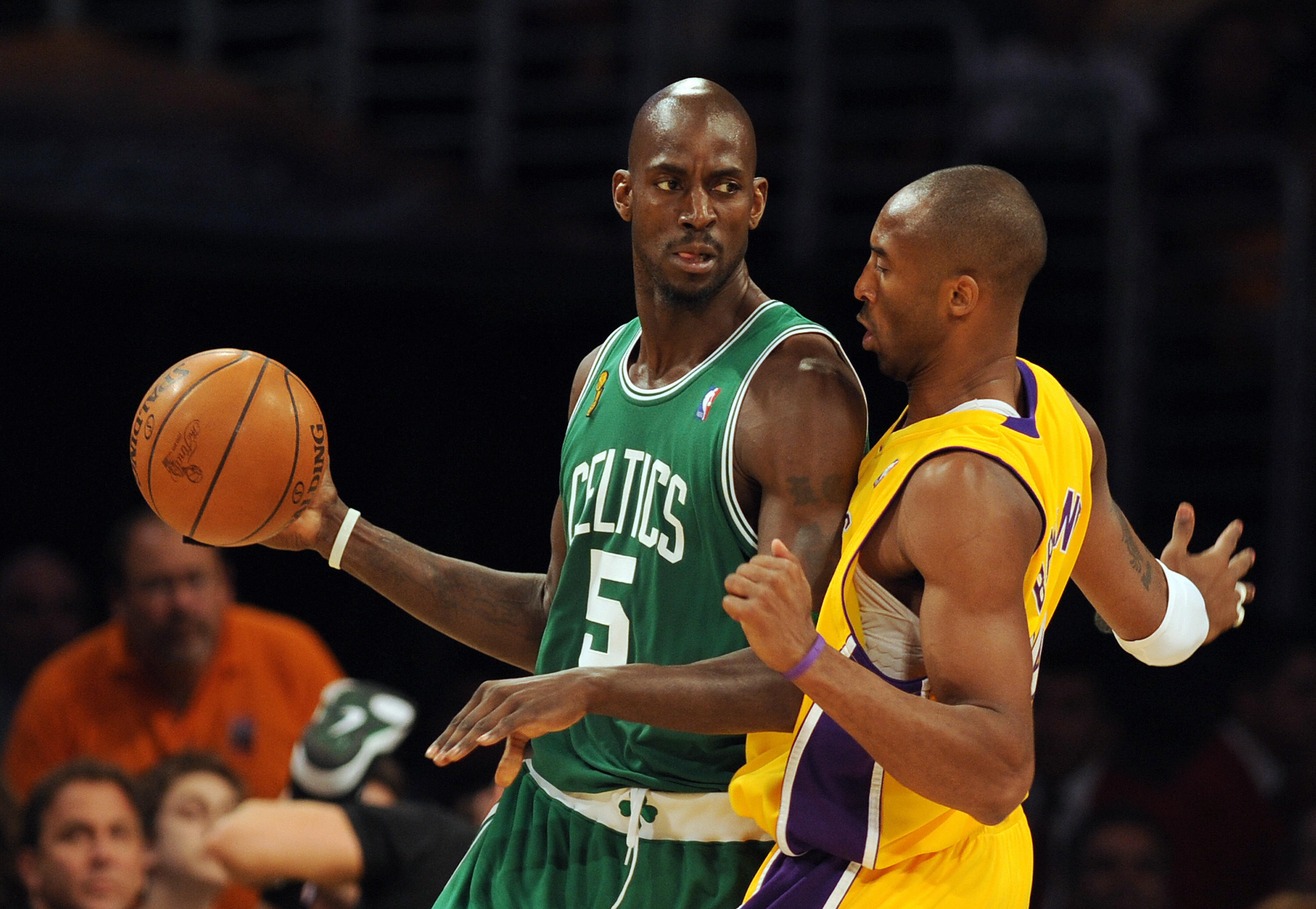 Kevin Garnett had a great relationship with Kobe Bryant despite being rivals on the court.
