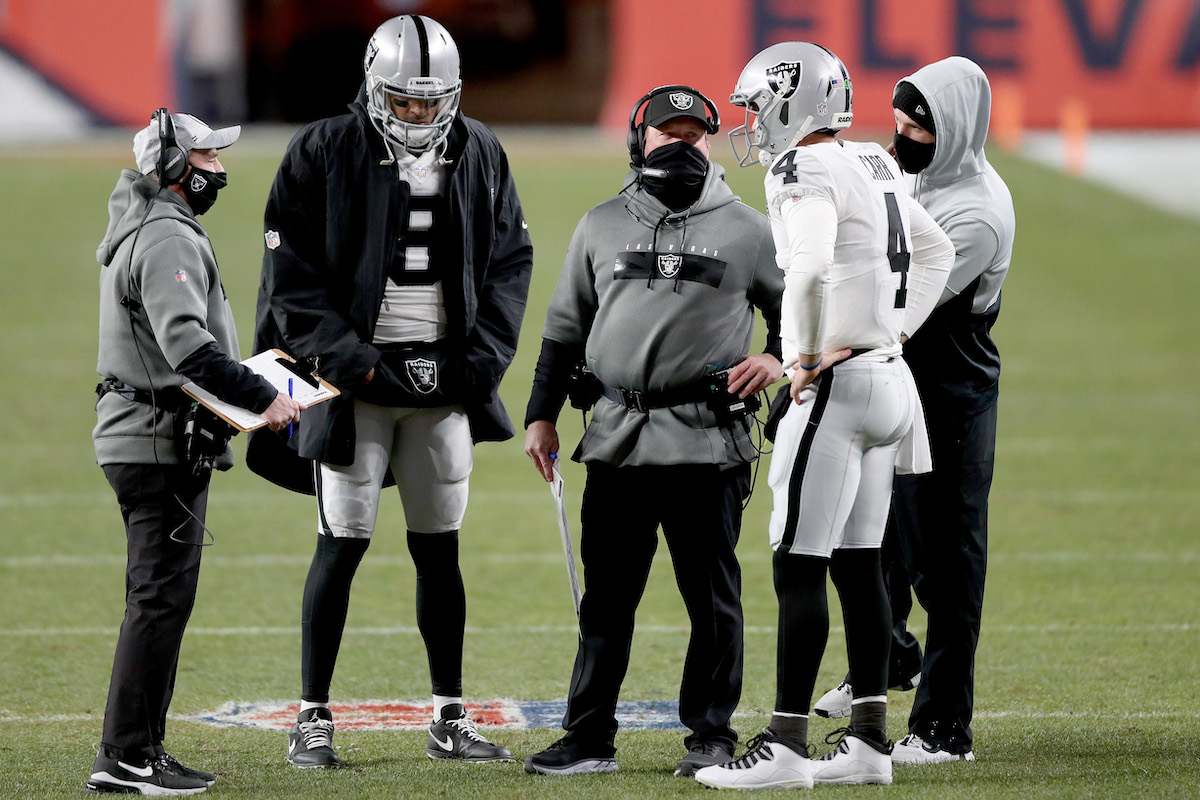 Jon Gruden and the Las Vegas Raiders Just Decided Derek Carr's Future With the Team