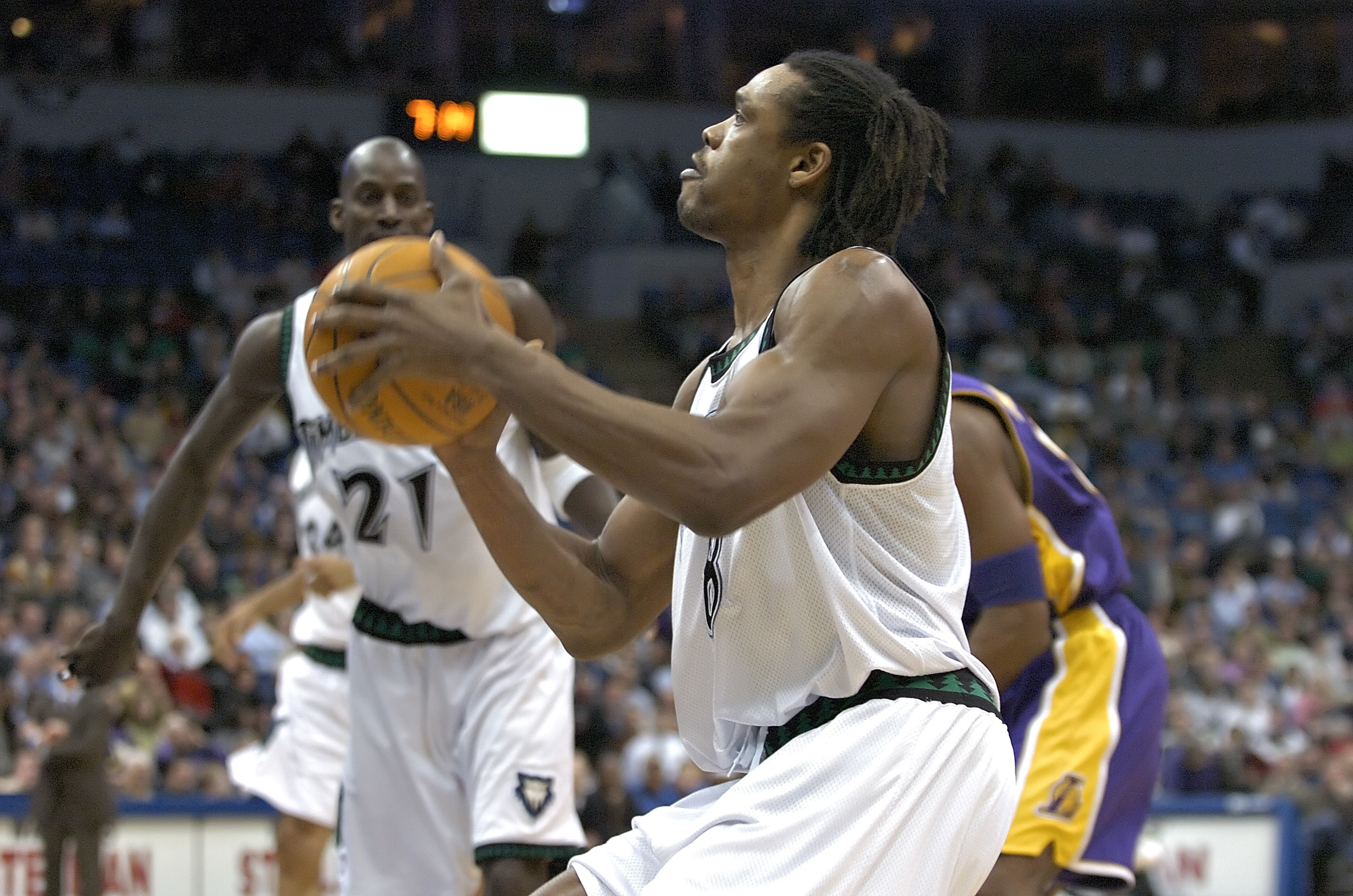 Latrell Sprewell appears to have posted a GoFundMe page that was quickly removed