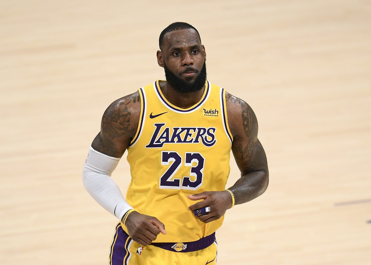 LeBron James refuses to allow Tom Brady impact his NBA future