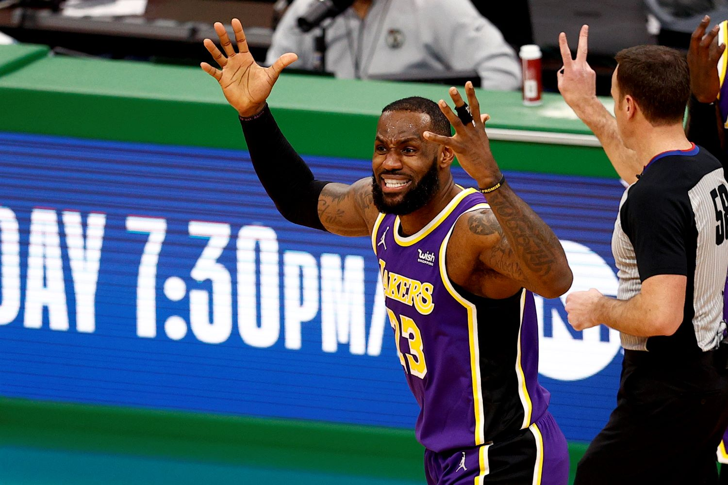 LeBron James may be playing at an All-Star level, but the Lakers star is pissed off at the NBA's decision to hold the game in the first place.