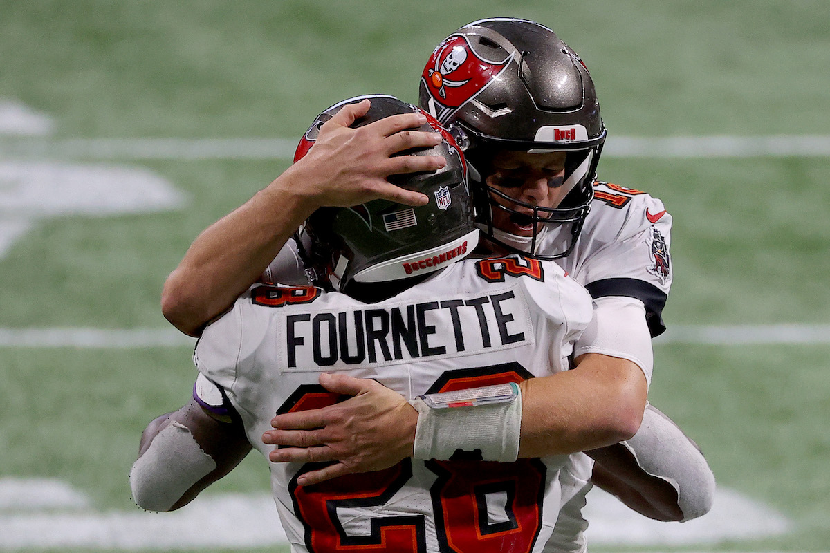 Tampa Bay Buccaneers running back Leonard Fournette details the grueling task of keeping Tom Brady healthy and free of COVID-19