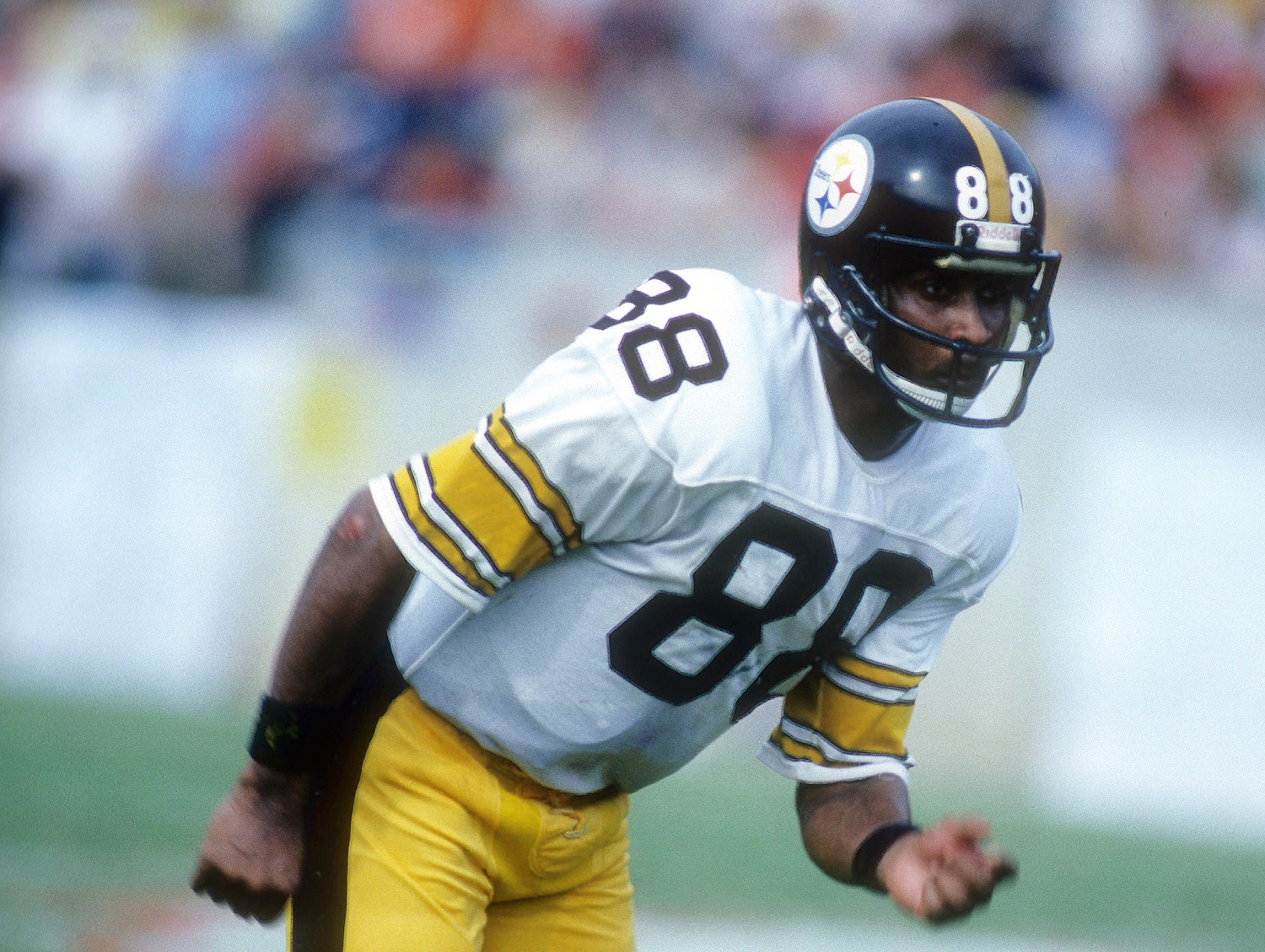 Lynn Swann helped the Pittsburgh Steelers to four Super Bowl victories en route to induction into the Pro Football Hall of Fame