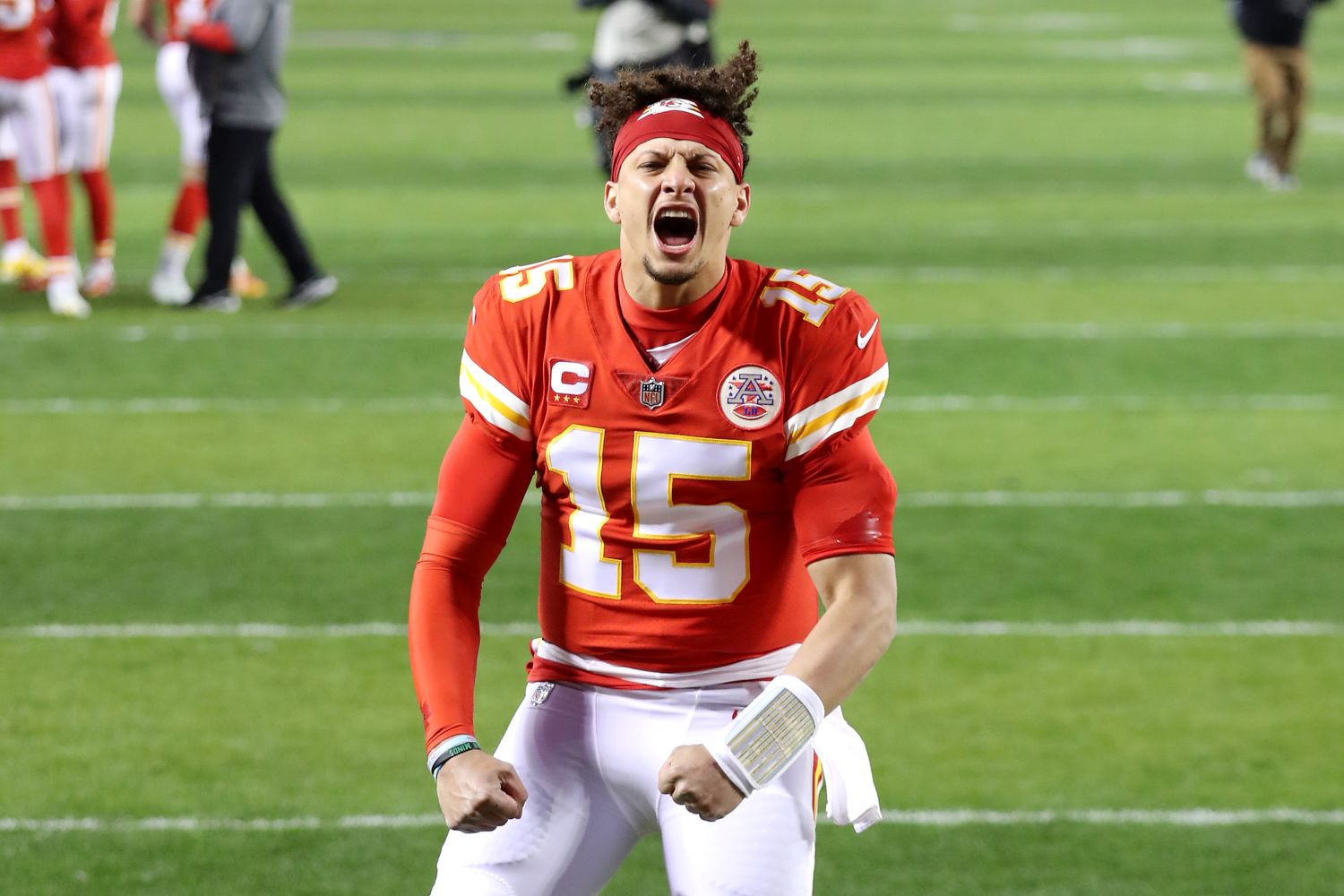 Patrick Mahomes provided a significant update on Tuesday about his nagging toe injury that could threaten the Chiefs' Super Bowl chances.
