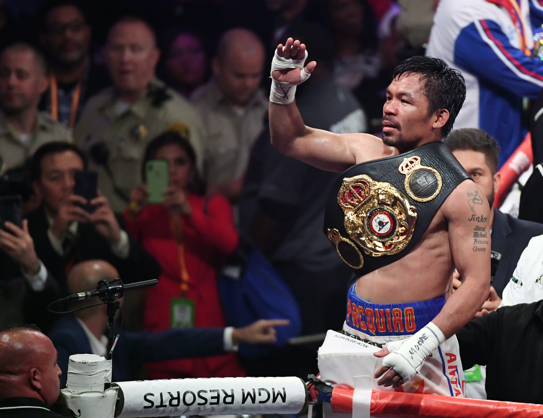 While Manny Pacquiao has a massive net worth, he could add an extra $40 million to his bottom line if things go according to plan.