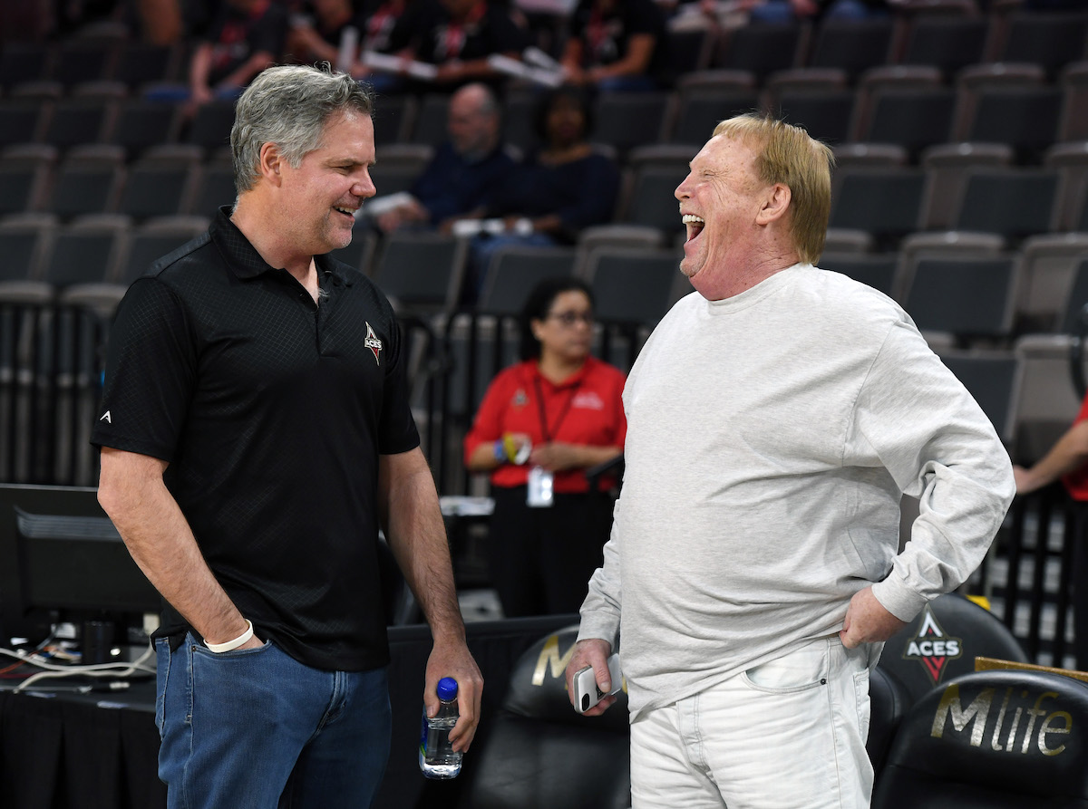 Raiders Owner Mark Davis Is Using His $700 Million Net Worth to Make an Immediate Impact on His New WNBA Team