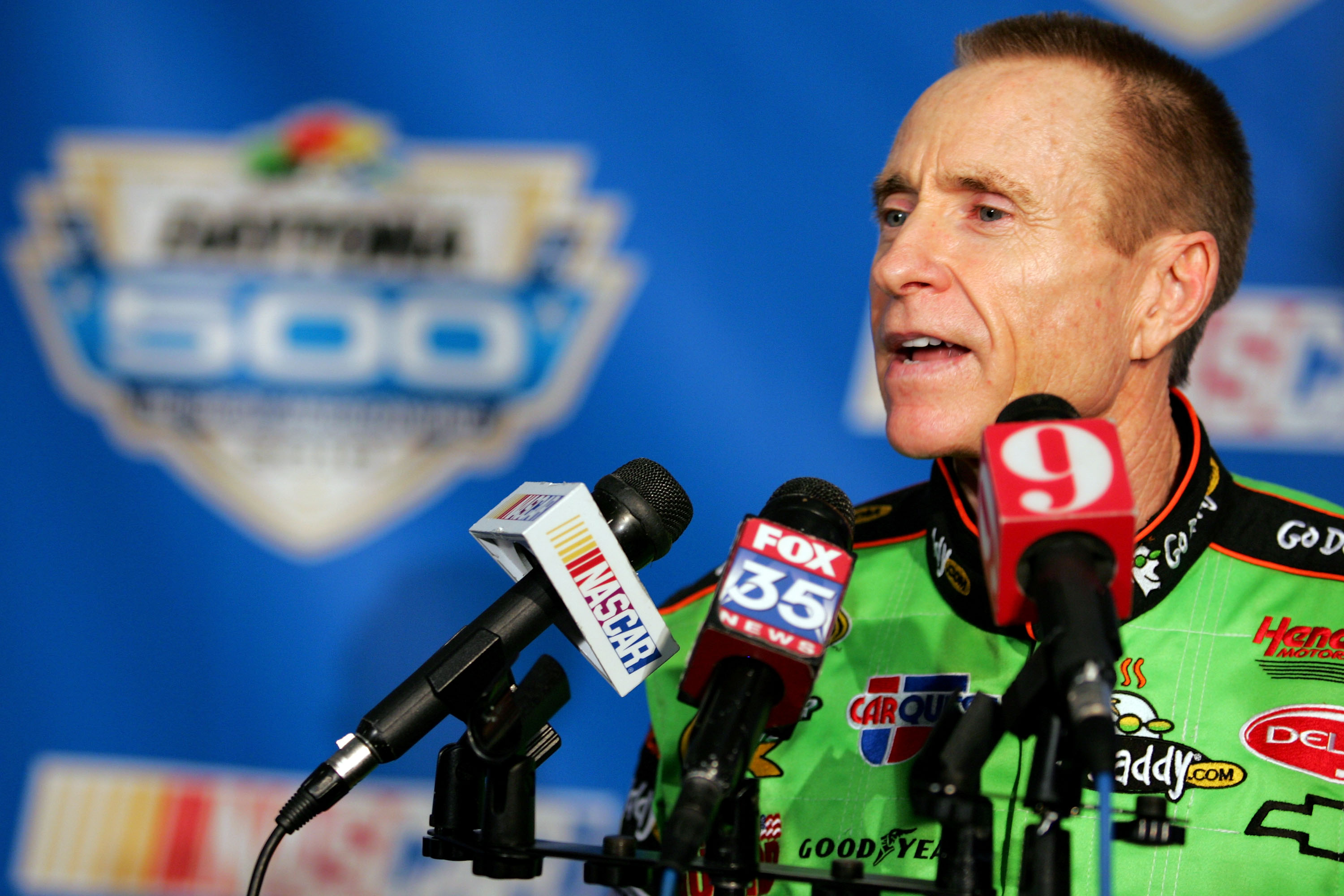 Mark Martin was pretty good at finishing second.