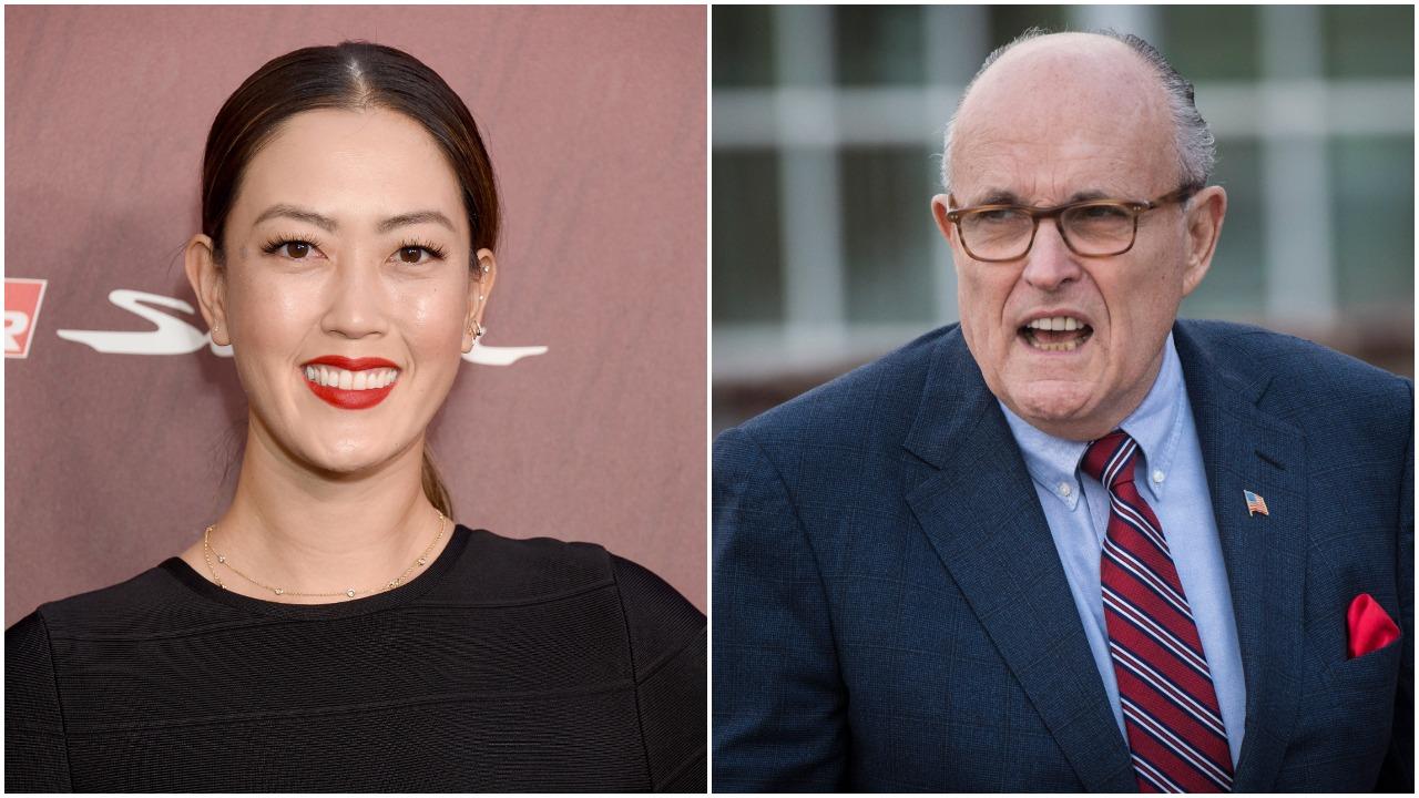 Michelle Wie Rudy Giuliani