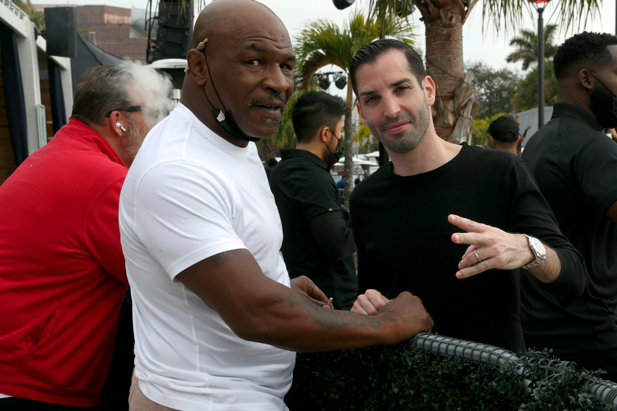 Mike Tyson can relate to te ups and downs of Tiger Woods.