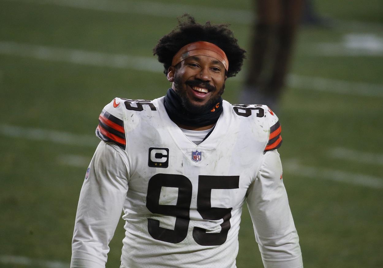 Cleveland Browns DE Myles Garrett