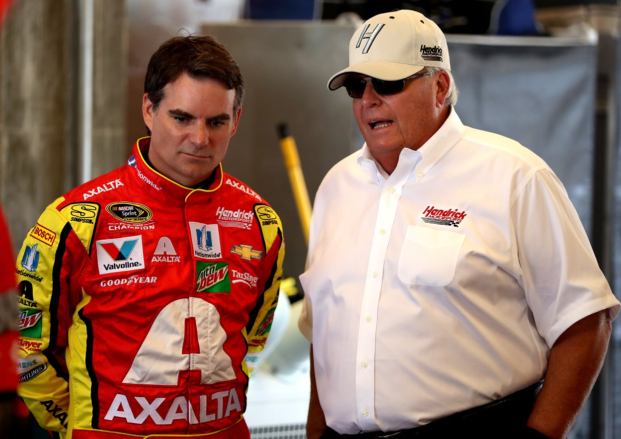 NASCAR Legend Jeff Gordon Will Have $350 Million Responsibility Bestowed Upon Him by Rick Hendrick