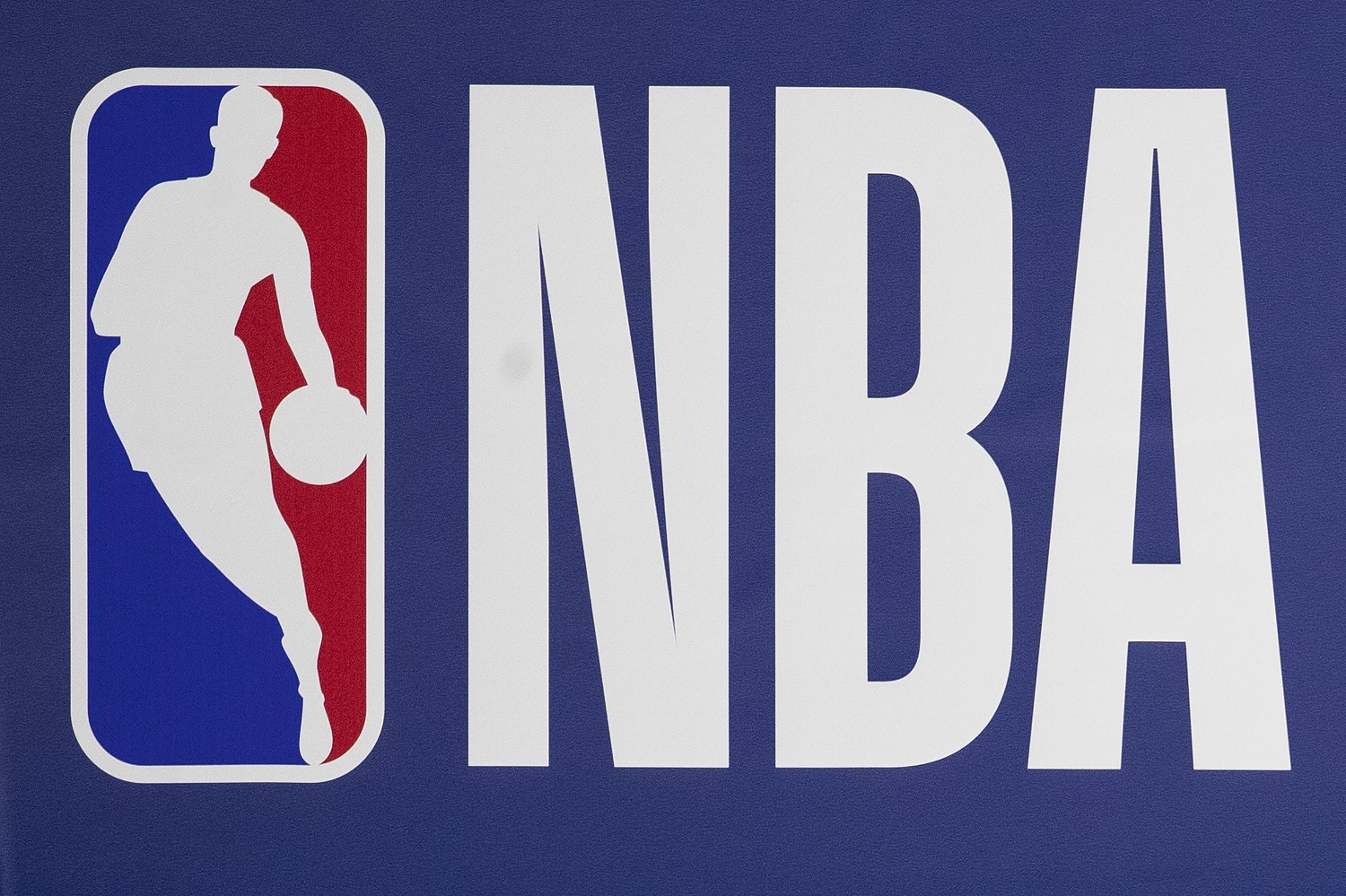 The red, white, and blue NBA logo was inspired by a photo of Jerry West. | Mitchell Leff/Getty Images