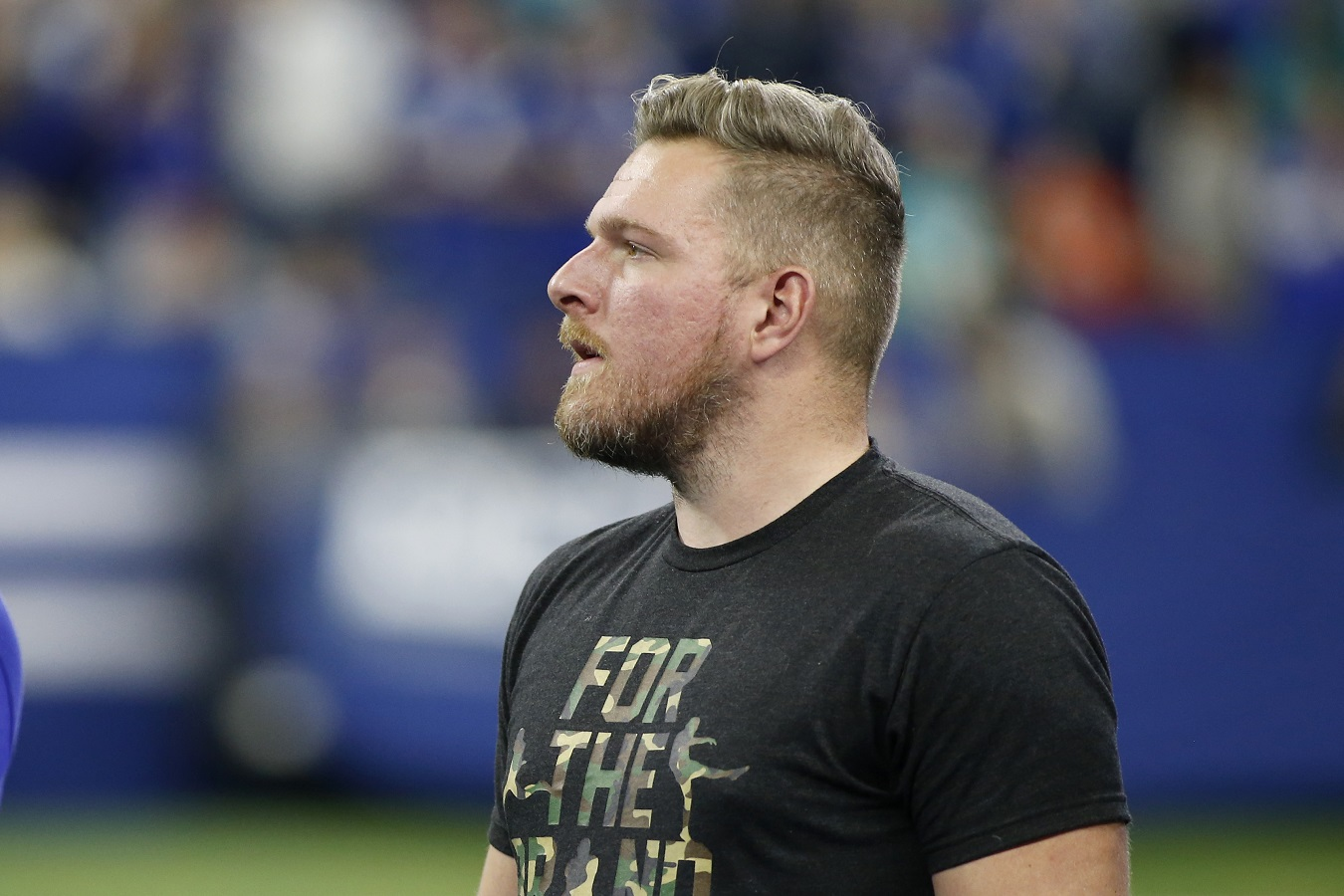 Former Indianapolis Colts P Pat McAfee