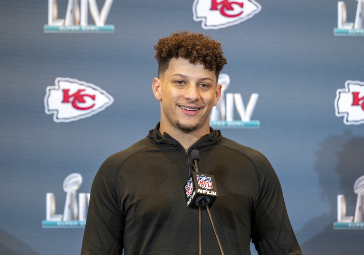 Patrick Mahomes is about to play in his second consecutive Super Bowl. However, he also just got a reporter trashed by fans on the internet.