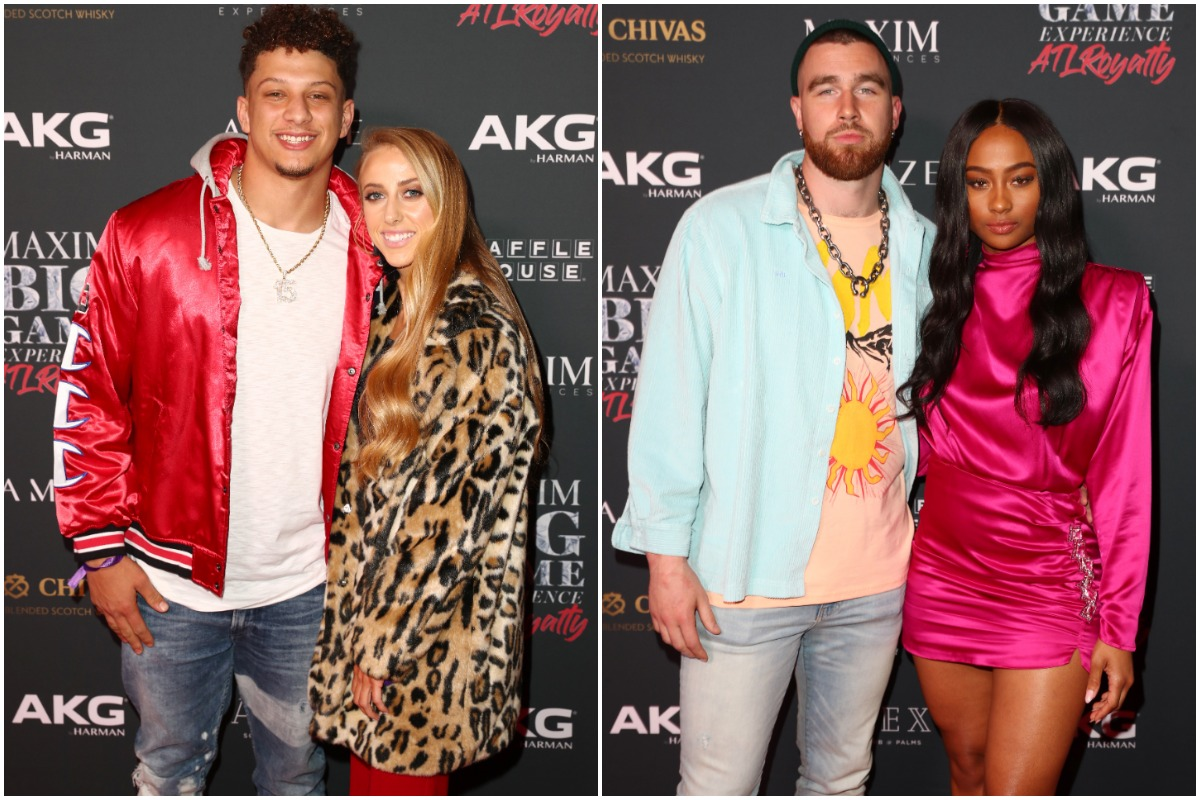Patrick Mahomes fiance and Travis Kelce's girlfriend don't appreciate the recent nickname that was given to Mahomes ahead of his matchup with Tom Brady.
