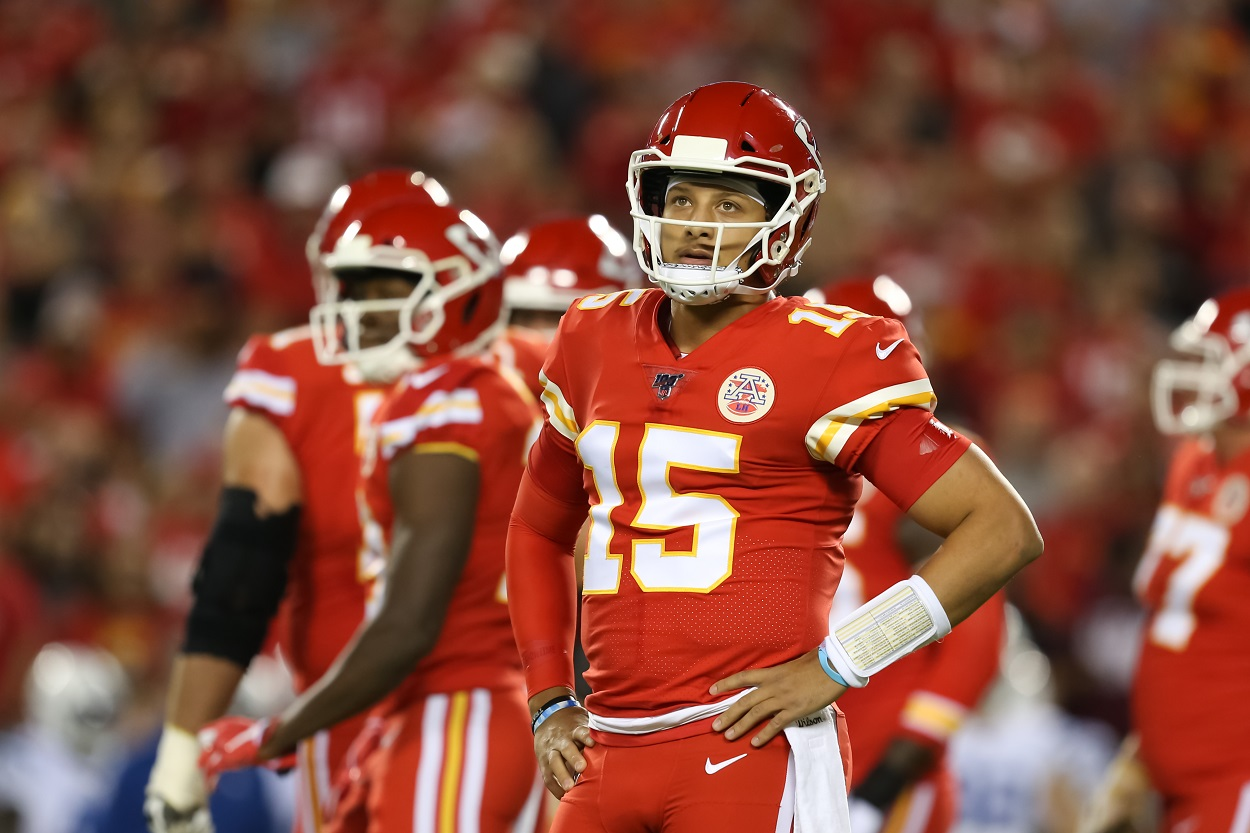 Patrick Mahomes credits Tom Brady pivotal moment in NFL career