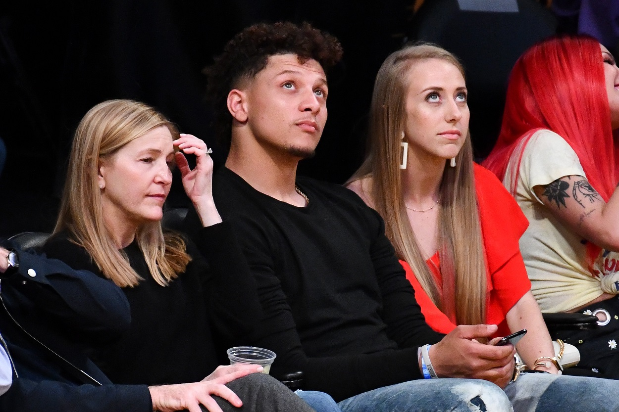 Patrick Mahomes Voices a Special Request for His Fiance Brittany Matthews Before Super Bowl 55