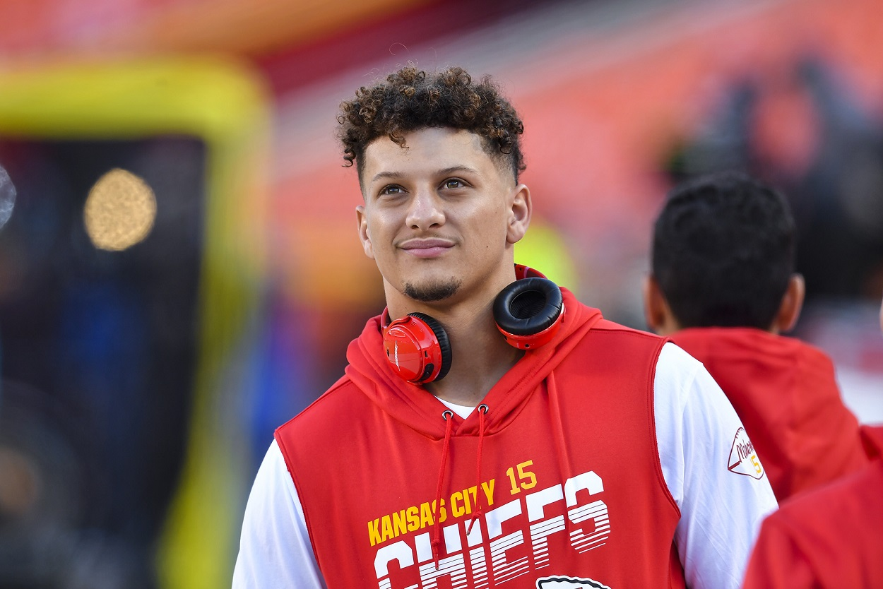 Patrick Mahomes presented dad with unforgettable gift