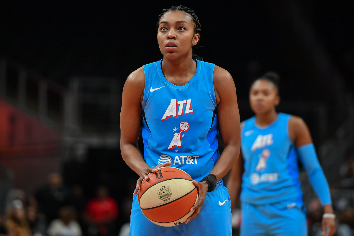 WNBA Star Renee Montgomery Makes a Life-Changing Career Decision That Is Way Bigger Than Basketball