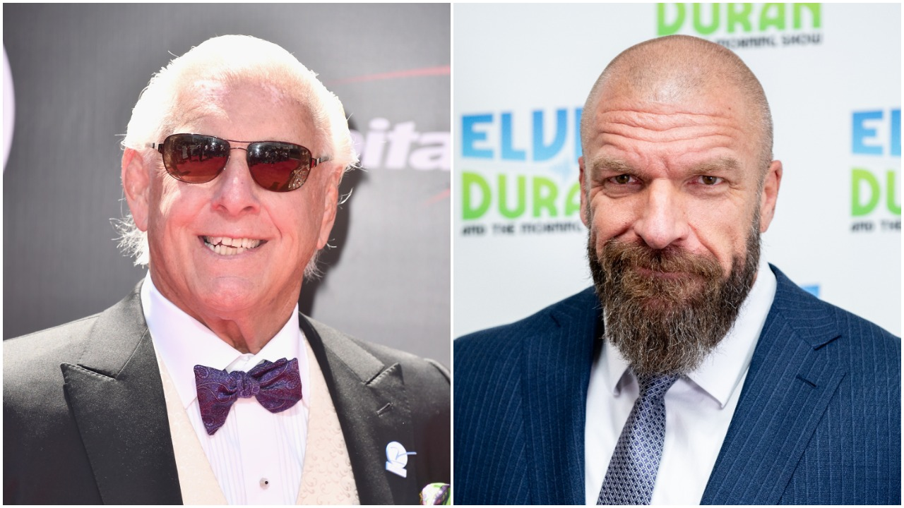 Ric Flair Triple H WWE
