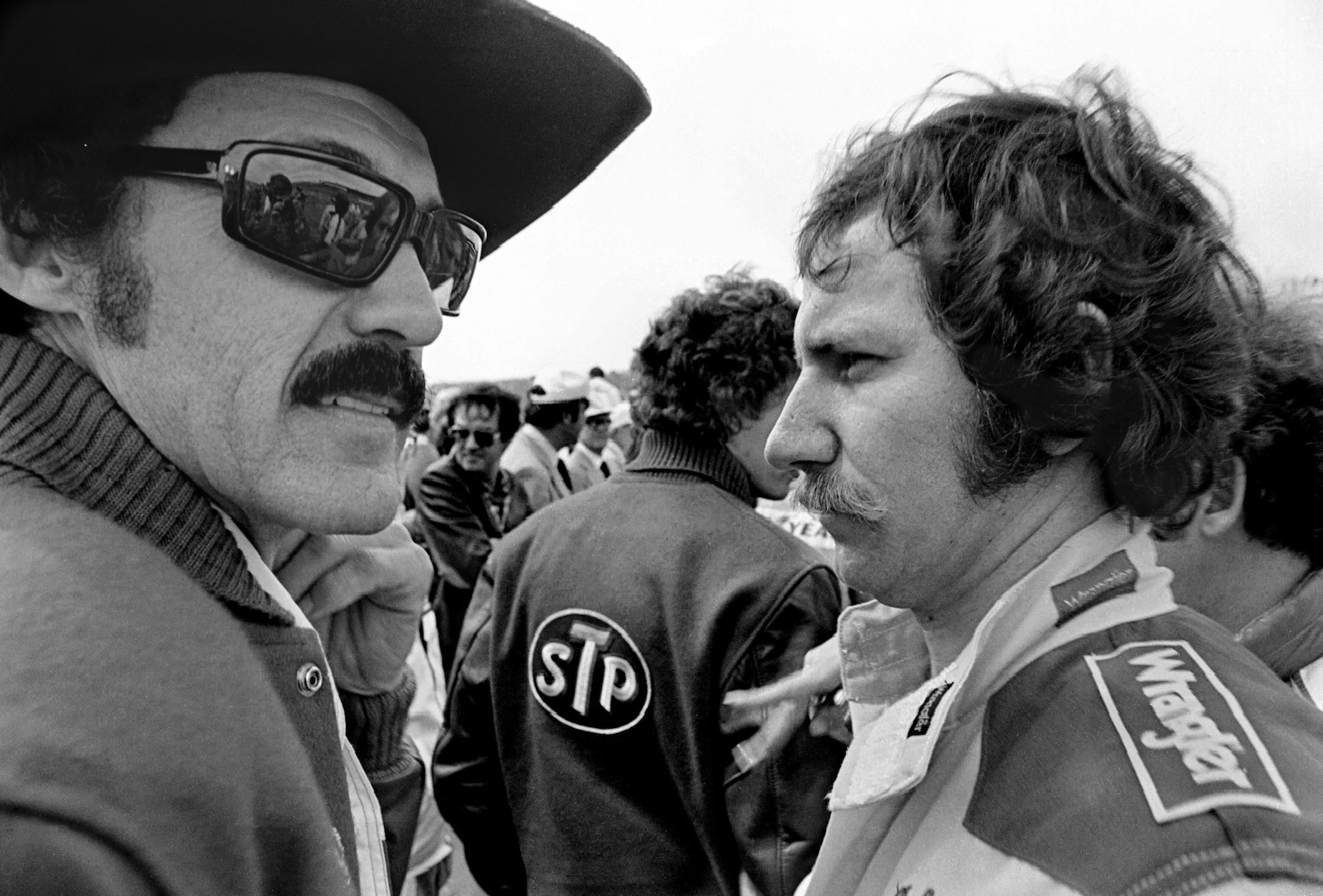 Richard Petty's First Encounter With Dale Earnhardt Sr. Involved a 9-Car Wreck and a Finger-Pointing Confrontation