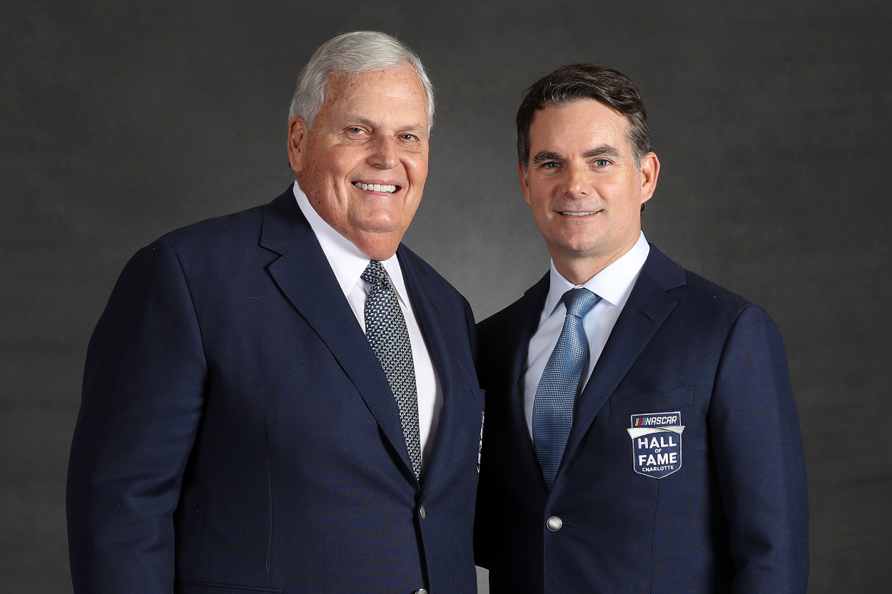 Rick Hendrick, left, is a Hall-of-Fame owner.