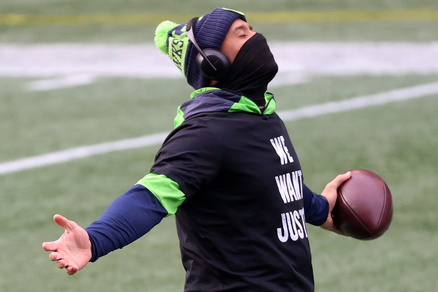 Russell Wilson's Time in Seattle Is a Little Less Safe Than It Already Was