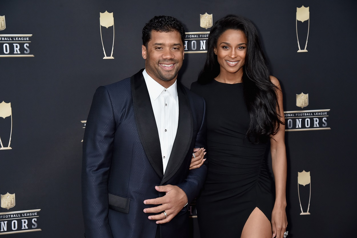 Russell Wilson Ciara New Orleans Saints recruitment