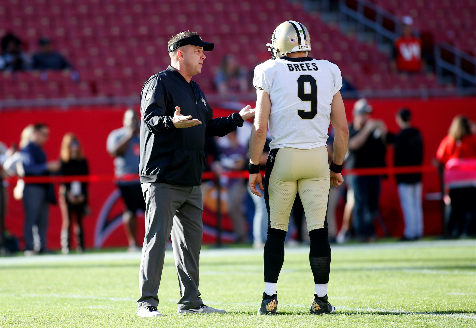 New Orleans Saints head coach Sean Payton is reportedly planning on replacing Drew Brees with Jameis Winston.