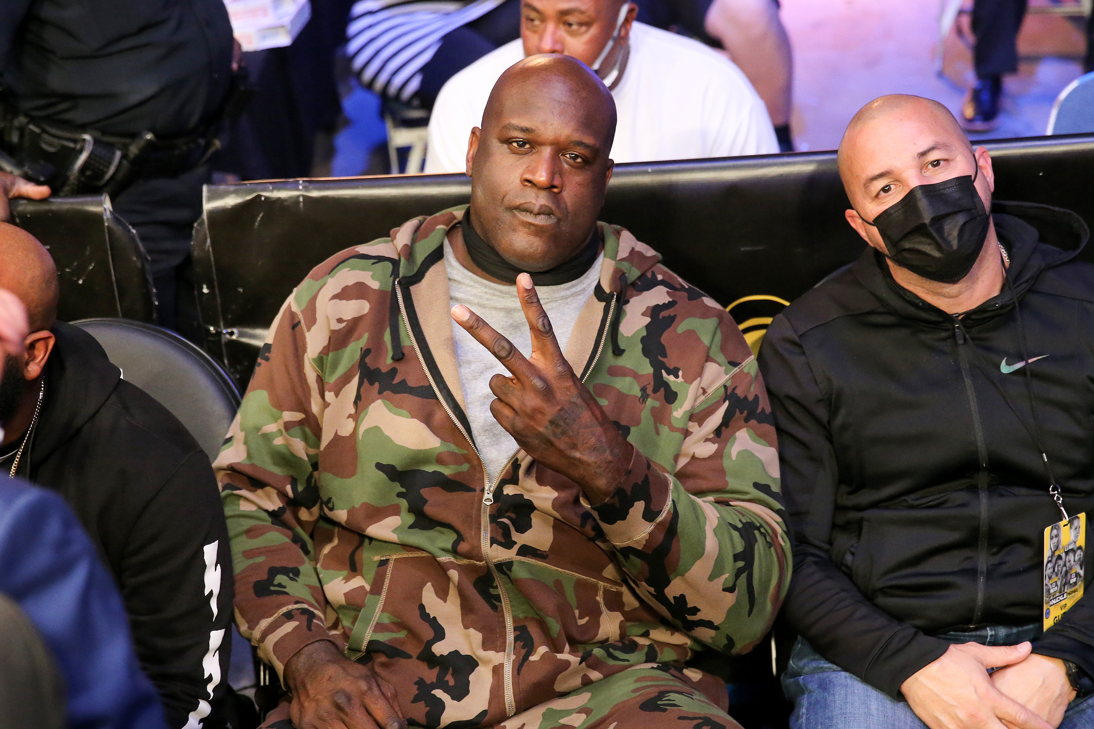 Shaquille O'Neal attends an event in 2021