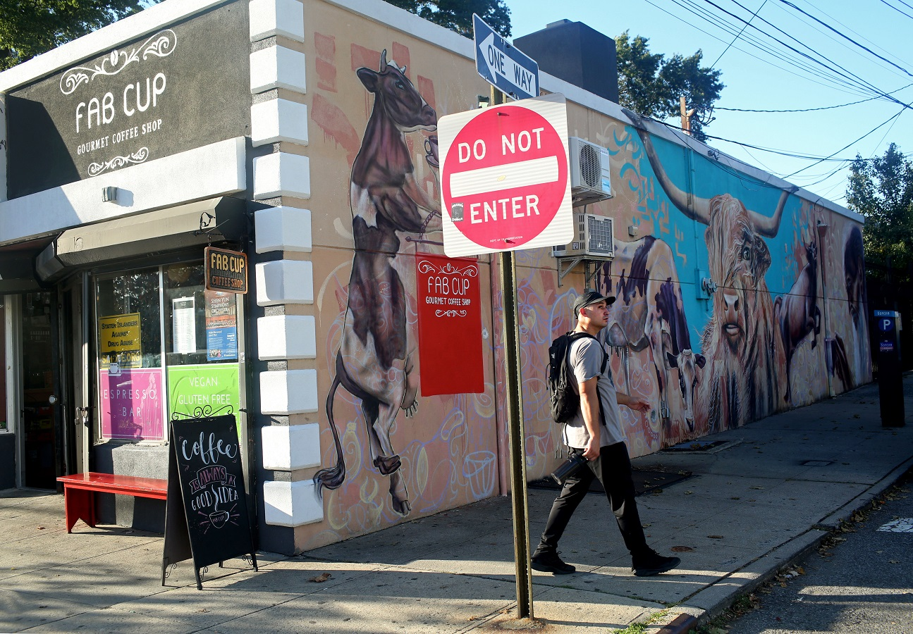 A Staten Island coffee shop