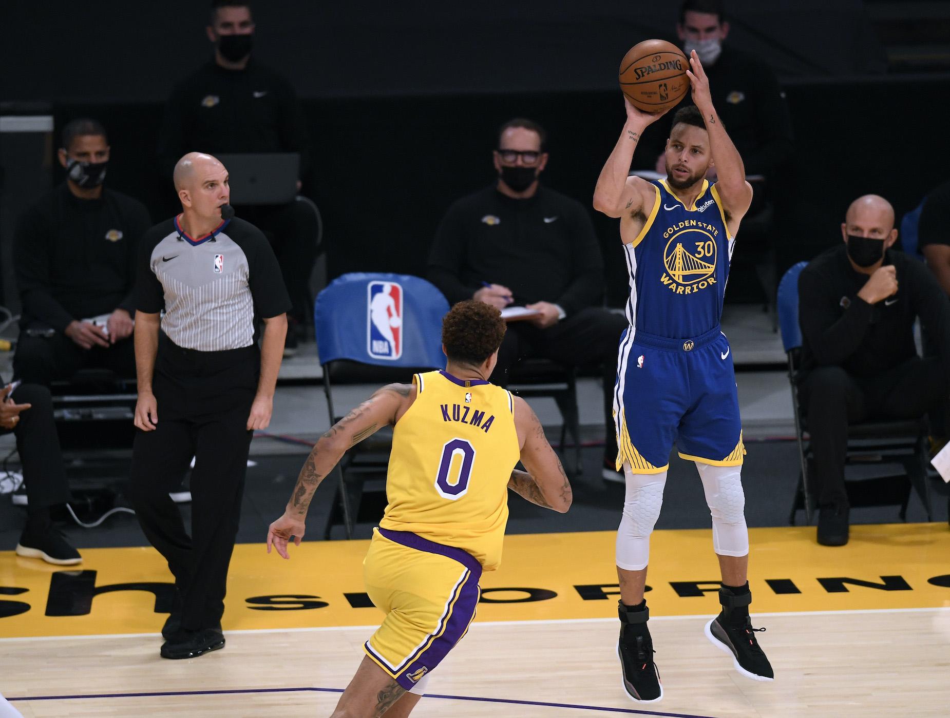 Warriors Star Steph Curry Isn't the 'GOAT Shooter,' According to a Veteran NBA Marksman