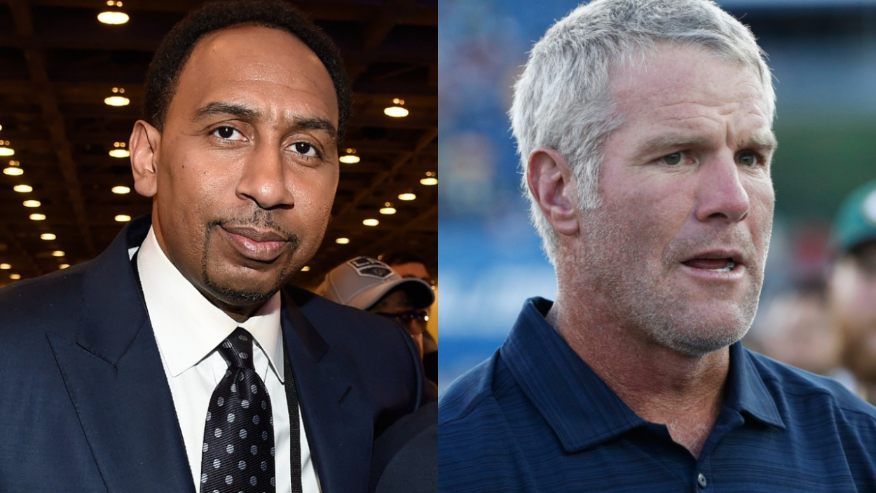 "Brett Favre made some questionable comments about Deshaun Watson. Stephen A. Smith has admitted to being ""very, very disturbed"" by them, too."
