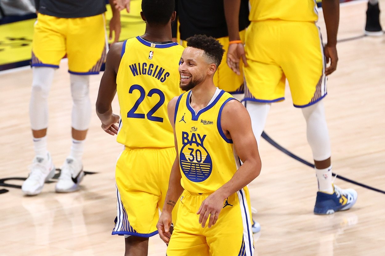 Stephen Curry's Father Dell Curry Knows Why He's Playing His Best Basketball