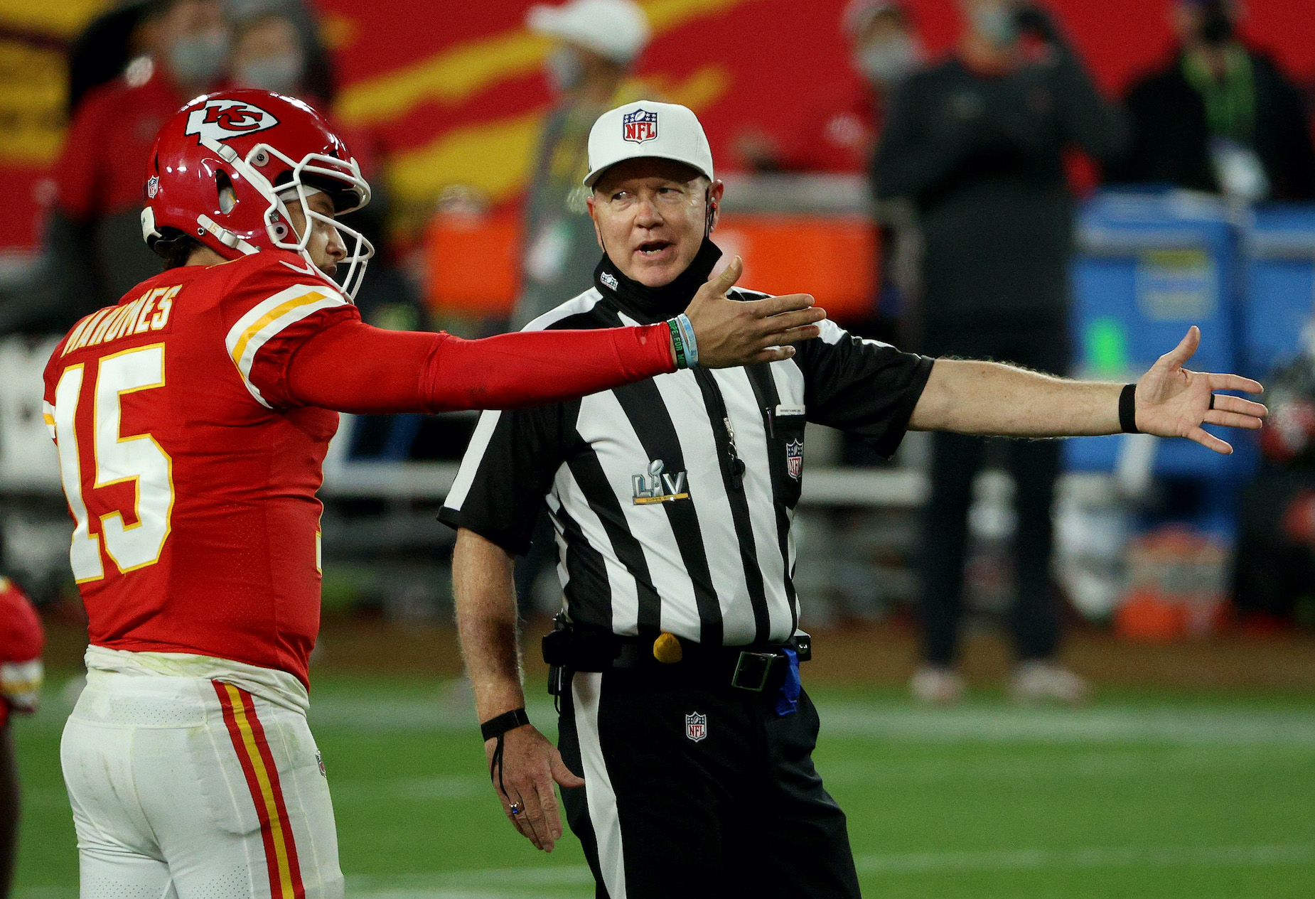Super Bowl 55's Referees Made Some 'Very Unusual' Calls, According to a Former NFL Official