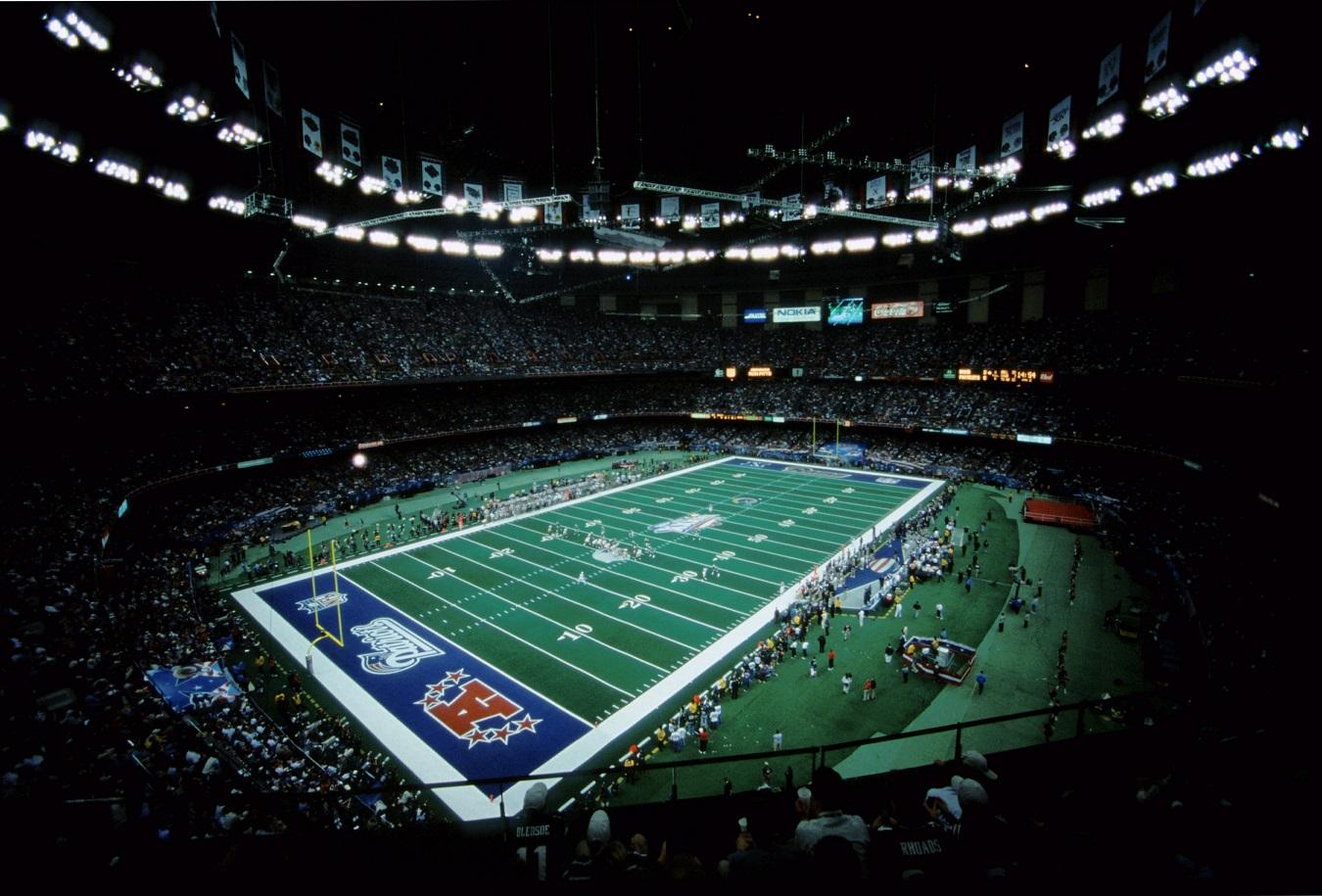 Super Bowl XXXVI at the Superdome