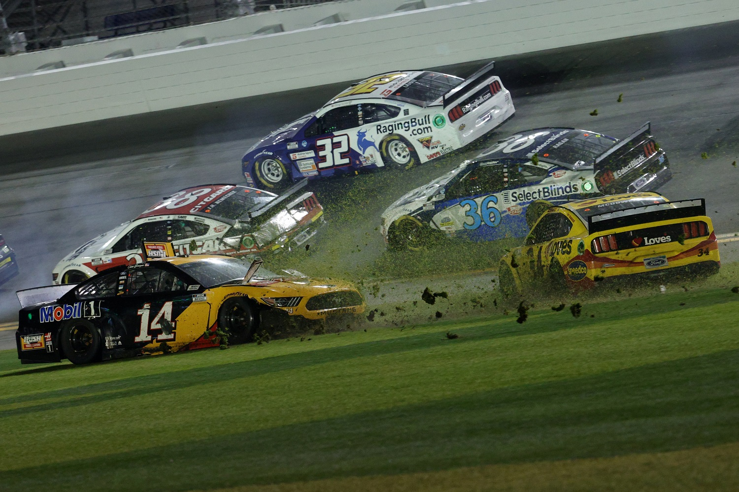 'The Big One' refers to major wrecks in NASCAR Cup Series races