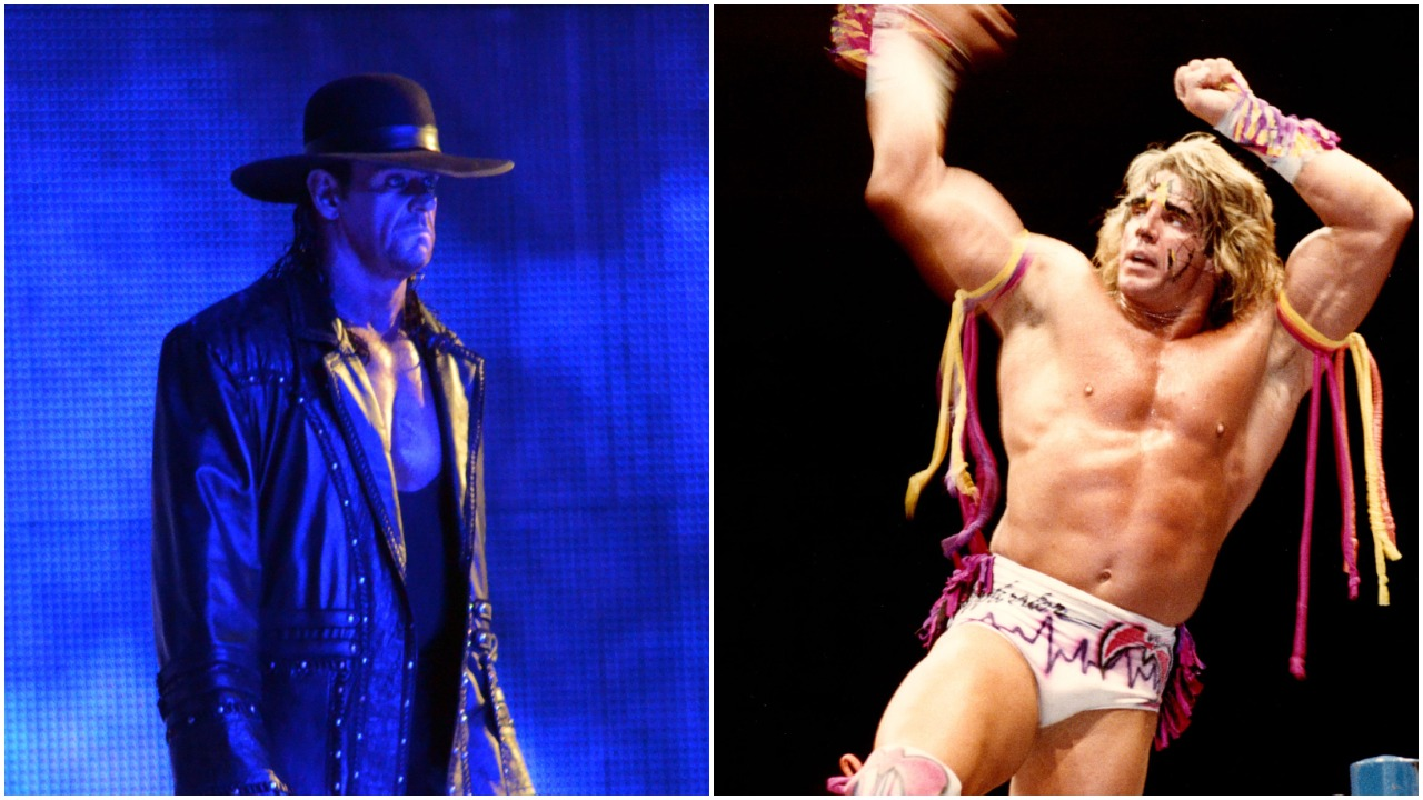 The Undertaker and The Ultimate Warrior WWE
